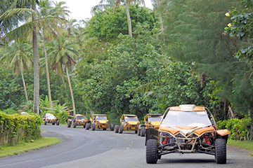 Buggy safari adventure tour in Rarotonga Cook Islands