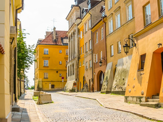 Old streets of the Old Town, Warsaw