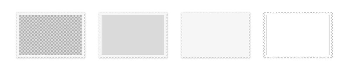 verschiedene Briefmarken Stile