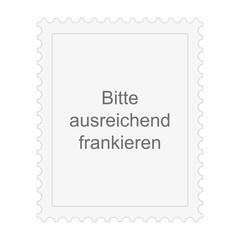 Briefmarke Bitte ausreichend frankieren
