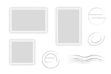 Briefmarken und Stempel Set Sammlung