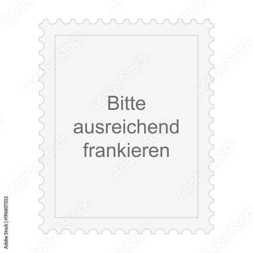 Briefmarke Bitte Ausreichend Frankieren Stockfotos Und