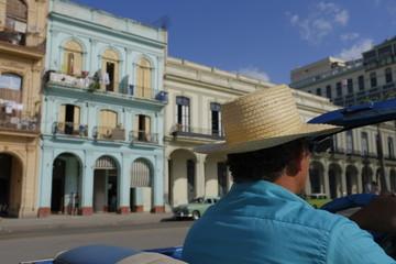 Cuba Vintage Car Driver