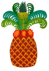 plasticine date palm
