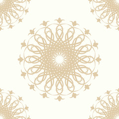 Seamless wallpapers in the style of Baroque . Modern texture illustration