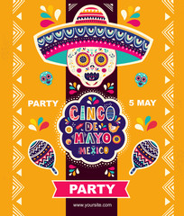 Holiday Mexican illustration