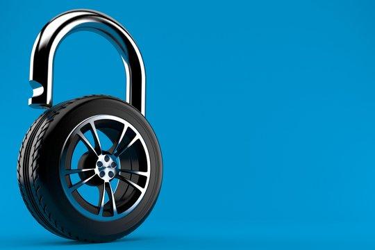 Car wheel protection concept