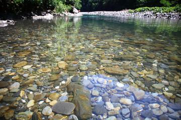 Foto auf Acrylglas Fluss Mountain river