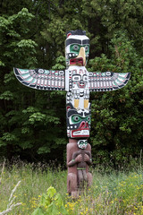 eagle totem tribal ancient symbol tradition colorful