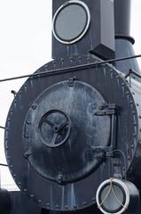 old train in railwaystation