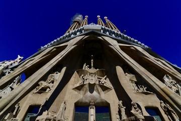 バルセロナの教会の景色