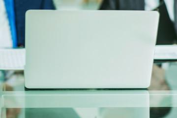 close up - Desk of a businessman.