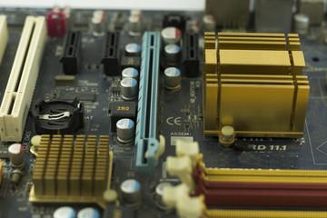 Old motherboard board