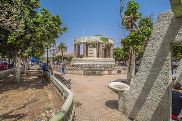 Ain Temouchent - June 02, 2017: Historic center of Ain Temouchent, Algeria