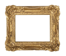 ornate old gilded frame