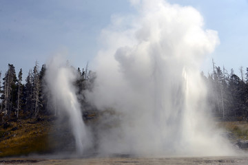Grand Geyser, Yellowstone National Park, Wyoming