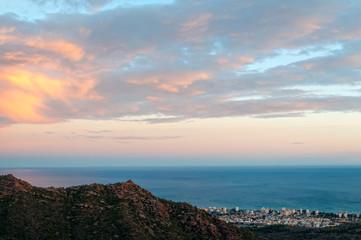 panoramic view of benicasim