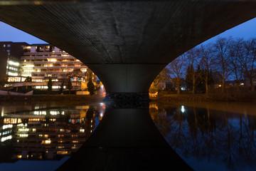 Brücke in Saarbrücken