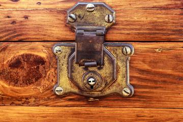 Old Lock and no key