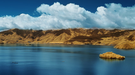 Lugu lake, Yunnan??_?? Infrared photography