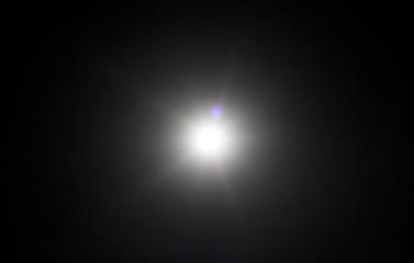 Dark night sky with star. Dark background