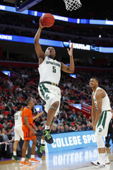 NCAA Basketball: NCAA Tournament-First Round: Bucknell Bison vs Michigan State Spartans
