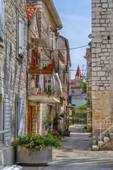 Fototapete - Street in Trogir, Croatia