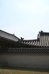 Korean traditional background,old palace