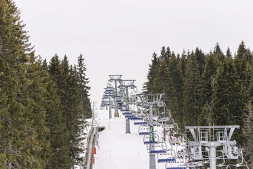 kopaonik ski center landscape