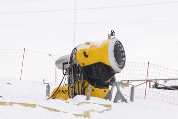 artificial snow machine