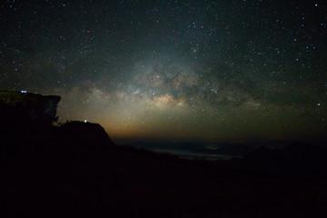 milky way galaxy in Thailand