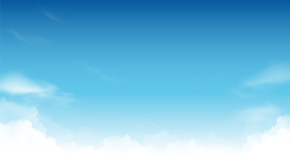 Sky vector background Wall mural