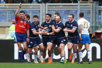 Six Nations Championship - Italy vs Scotland