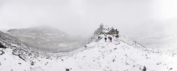 Chalcaltaya mountain in Bolivia