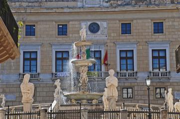 Palermo, la fontana di Piazza Pretoria