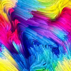 Acceleration of Liquid Color