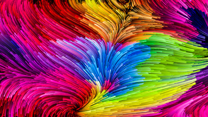 Virtual Colorful Paint