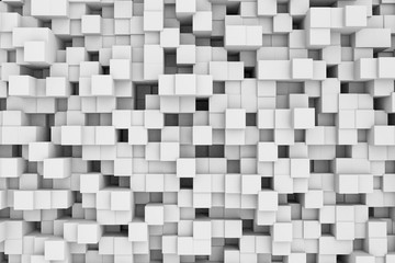 3d cubes Abstract Background