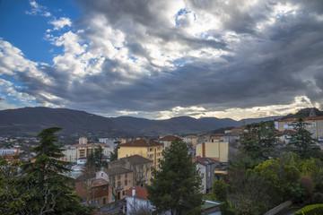 Ardèche/vue sur Privas