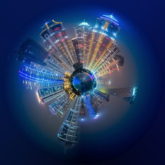 Dubai, night life, city, planet