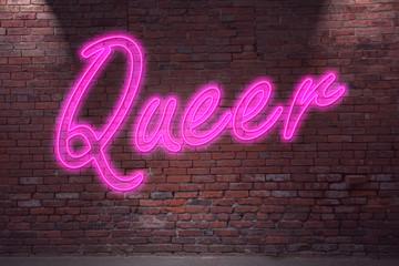 Leuchtreklame Queer Neon