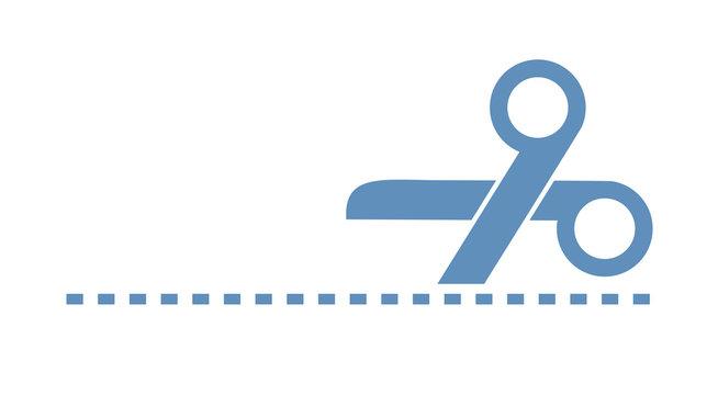 scissors cutting illustration