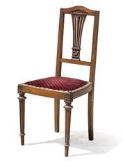 vintage wooden kitchen chair