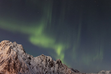 Northern lights - Sky over Norway, Svolvaer, Lofoten