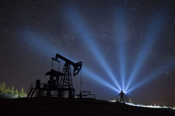 Oil pump and stars