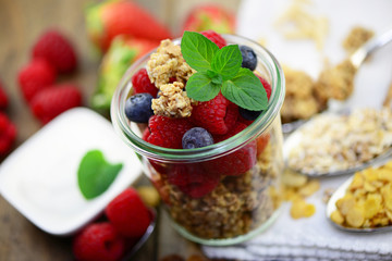 Frühstück Früchte