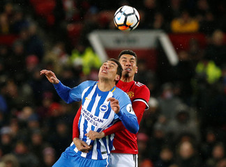 FA Cup Quarter Final - Manchester United vs Brighton & Hove Albion