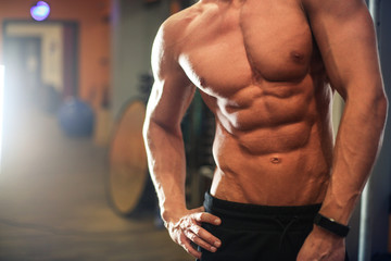 Fit and muscular body