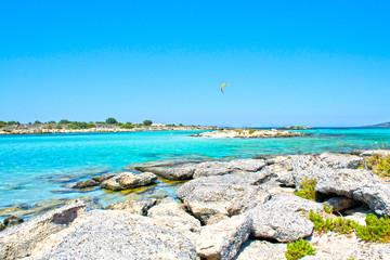 Meravigliosa spiaggia dell'isola di Creta, Elafonissi - Grecia