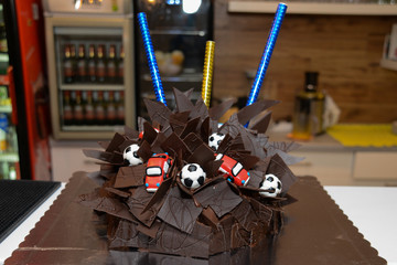 Boys Birthday Cake Car